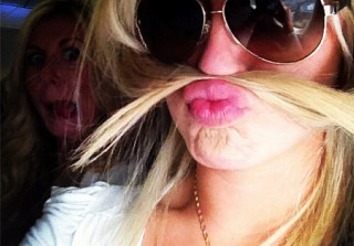 Which 24-Year-Old Blond Beauty Is Rocking a Hairy Mustache? (PHOTO)
