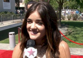 Pretty Little Liars\' Lucy Hale Talks Season 4, Ravenswood, And Making Out With Both Ezra And Jake On-set!