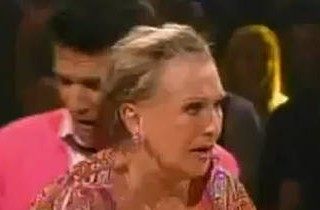 DWTS Wardrobe Malfunctions: Cloris Leachman Loses Her Wig