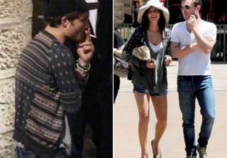 Fashion ID: Ed Westwick Wears Jessica Szohr\'s Clothes