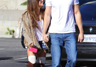 Anatomy of an Outfit: Ashley Tisdale\'s Thigh-High Mix-Up