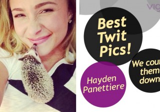 Hayden Panettiere's Best Twitter Pics: Connie Britton, Mike Tyson & More! (VIDEO)