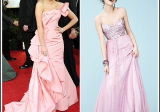 Sponsored Post: Macy\'s Prom Dress-Up: Lea Michele Is the Prom Queen