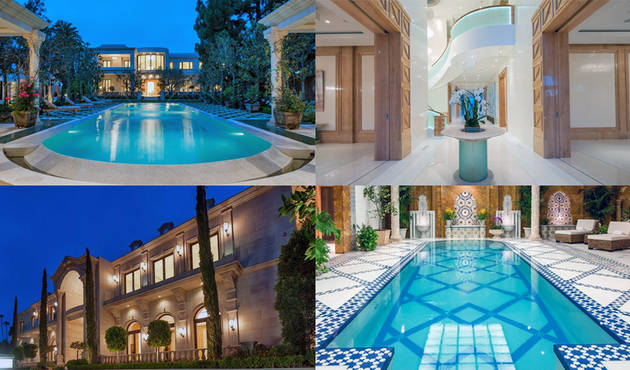 Look Inside Mohamed Hadid S 58 Million Mansion Photos