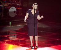 THE VOICE -- Episode 205 -- Pictured: Lex Land -- (Photo by: Lewis Jacobs/NBC)