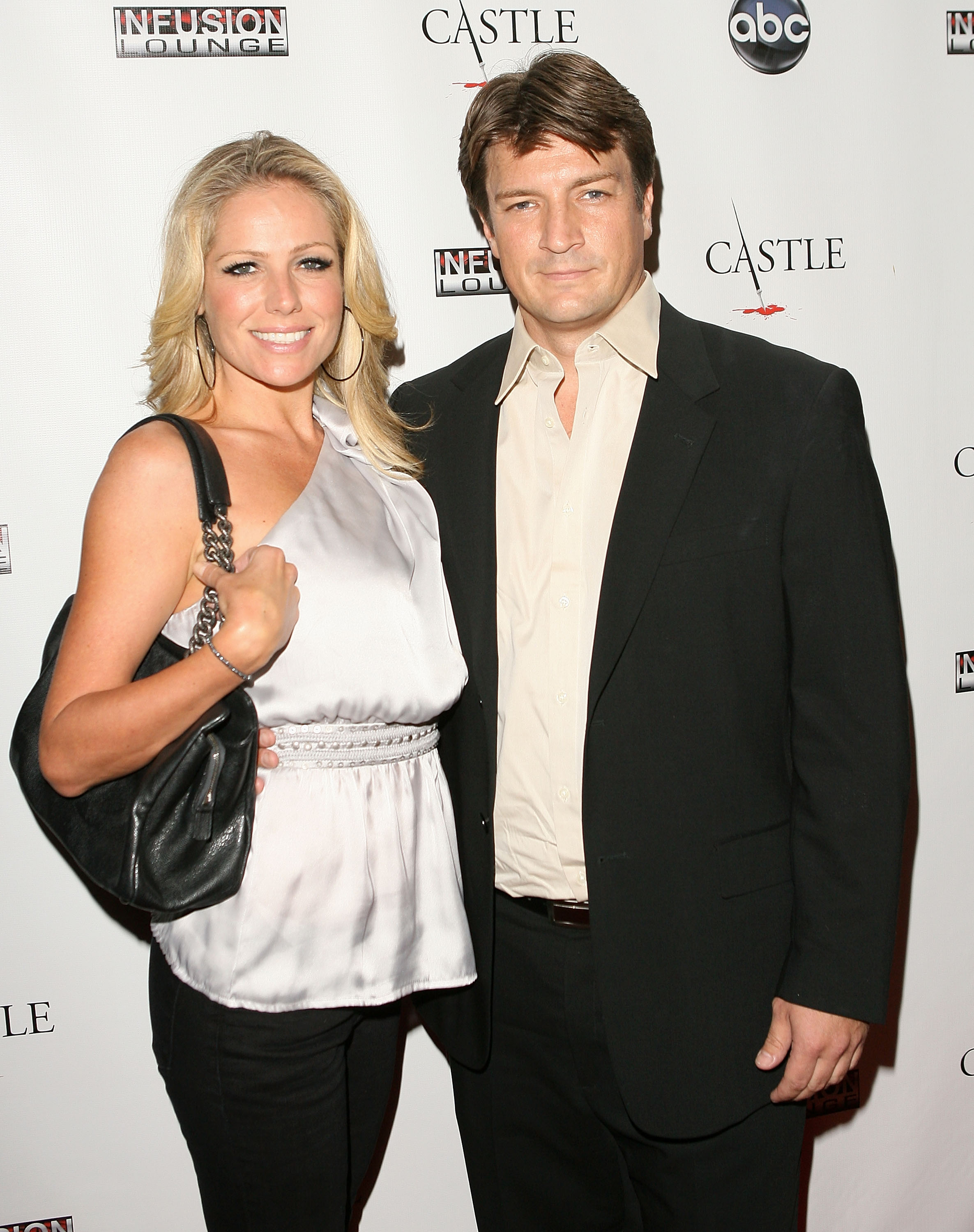 Nathan Fillion Girlfriend Nathan fillion does a spot of