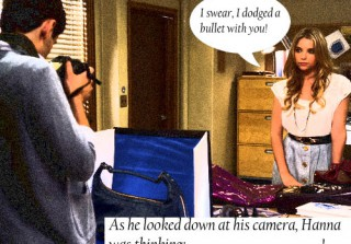 Pretty Little Liars Caption Contest: Hanna and Lucas Edition