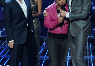 Nicole Breaks Down Backstage on The X Factor! Rachel Crow Forgives Her! [VIDEO]