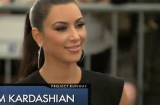 Kim Kardashian Guest Judges on Project Runway