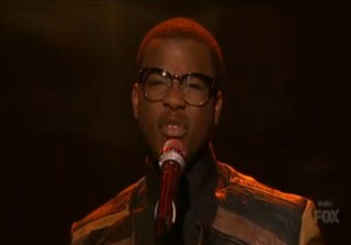 "Watch Burnell Taylor Sing ""Let It Be"" on American Idol 2013 Top 9 Performance Show"