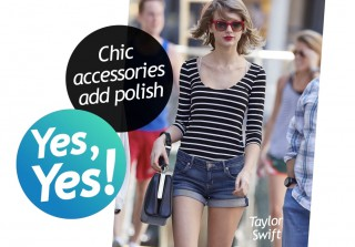 Taylor Swift, Emma Stone, and More Celebs Rock Jean Shorts (VIDEO)