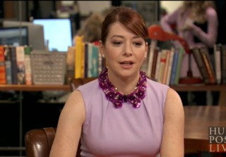 Alyson Hannigan Dishes Out Some Parenting Advice