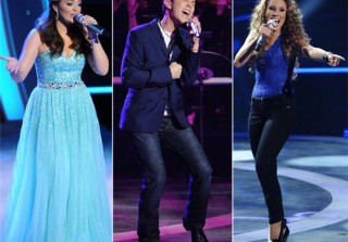 Oops, Haley Falls! Photos From American Idol Season 10: The Top 3 Perform