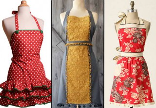 Kiss The Cook: Fun, Festive Aprons for Every Figure