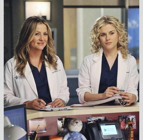 Callie's Vagina Gets a Vote! Grey's Anatomy Season 7 ... Rachael Taylor Greys Anatomy