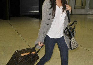 Anatomy of an Outfit: Ashley Tisdale\'s Holiday Travel Look