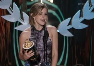 Watch! Team Harry Potter Wins MTV Movie Best Cast Awards
