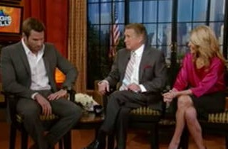 Bachelor Brad Womack Talks Getting Slapped, Tonight\'s Premiere on Regis and Kelly, January 3, 2011