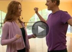 Watch! Carson Kressley\'s First DWTS Season 13 Rehersal