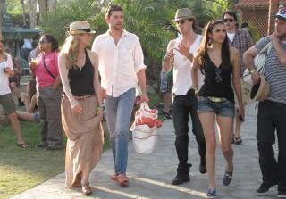 Nina Dobrev & Ian Somerhalder Heat Up Coachella