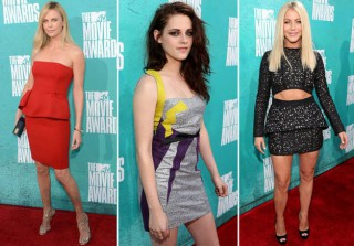 Best and Worst Fashion of MTV Movie Awards 2012 (PHOTOS)