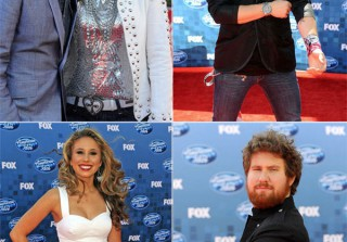 The American Idol Family Hits the Red Carpet for the Season 10 Grand Finale