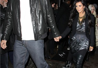 Newlyweds Kim Kardashian and Kris Humphries Celebrate a Private Mass