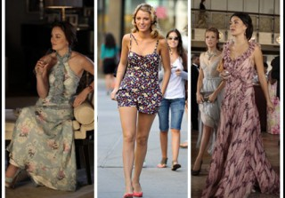 Macy's Prints Charming Muse: Blake Lively Rocks a Romper