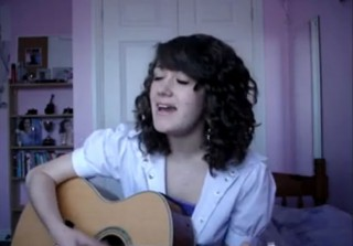 "Gleek Off! Cover Contest: Britney Spears' ""...Baby One More Time"" (guitargirl)"