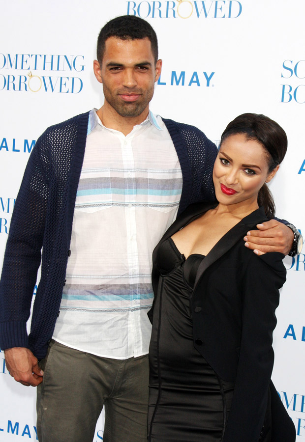 from Griffin kat graham and her boyfriend