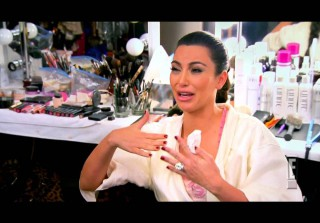 Watch Kim Kardashian Cry as She Confesses She \