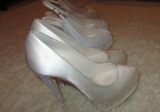 Kim Kardashian\'s Wedding Shoes