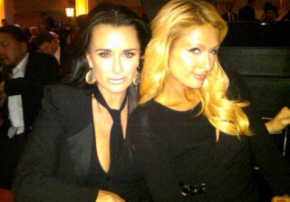 Cute Pic of the Day: Kyle Richards and Paris Hilton, Babes in Black!