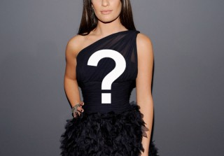 Vote Now! What Should Lea Michele Wear to the Globes?