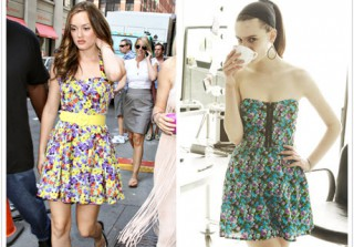Macy's Prints Charming Muse: Leighton Meester Goes Flirty in Floral