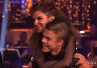 DWTS Season 14, Week 4 Performance: Maria Menounos & Derek Hough Tango to \