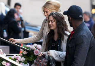 Is Blair Waldorf Getting Hitched? Gossip Girl Filming at a Church in NYC on November 9, 2011