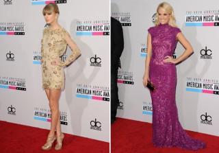 2012 American Music Awards - Best Dressed Stars Walk The Red Carpet (PHOTOS)