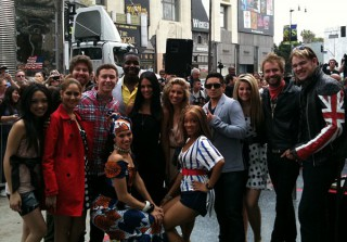 The Top 13 Reunite to Celebrate Simon Fuller\'s Star on the Walk of Fame