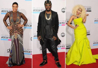 AMA 2012: Most Outrageous Red Carpet Looks (PHOTOS)