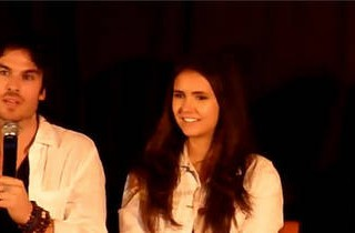 Nina Dobrev and Ian Somerhalder Answer Fan Questions at the Mystic Love Convention in Nimes, France
