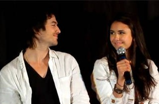 Nina Dobrev and Ian Somerhalder Talk About \'Delena\' at the Mystic Love Convention in Nimes, France