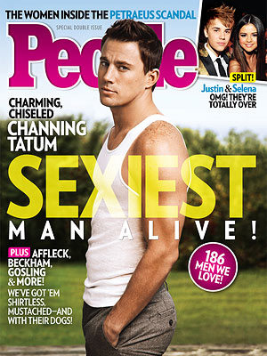 Channing Tatum Is People's Sexiest Man Alive For 2012!