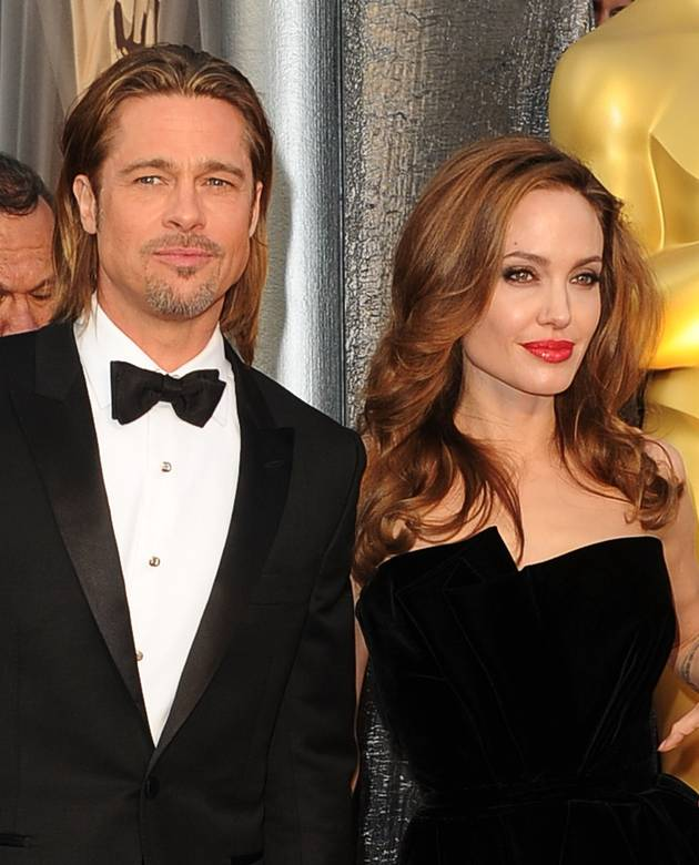 "Brad Pitt and Angelina Jolie's Kids ""Raise a Ruckus"" at Pizza Place"