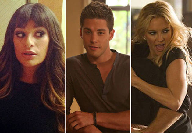 Glee's Dean Geyer on Brody's Relationship with Rachel — and Cassandra! Exclusive