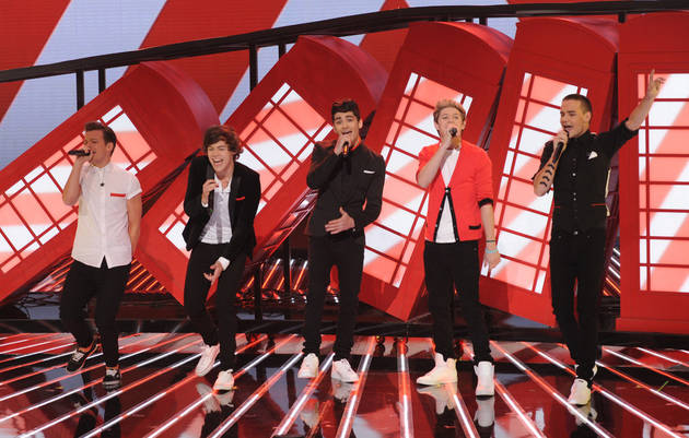 One Direction Is Making a 3D Movie — See Harry Styles (Almost) in the Flesh
