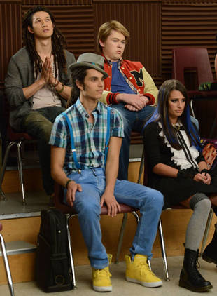 Glee's Samuel Larsen on Why He's Happy Quinn and Joe Might Not Last — Exclusive