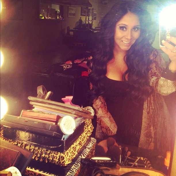 Snooki With Super Curly Hair: Hot or Not? (PHOTO)