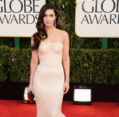 New Mom Megan Fox Goes Nude at 2013 Golden Globes