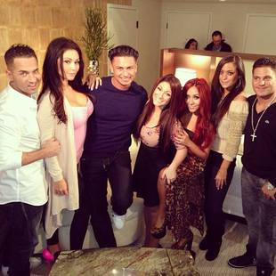 "Jersey Shore Cast Reunites For ""Spring Fix"" Benefit Concert on March 23, 2013"
